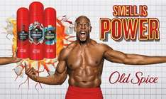 Various Old Spice Deodorants Spray and Stick reduced to £1.50 C+C / Instore @ Wilko