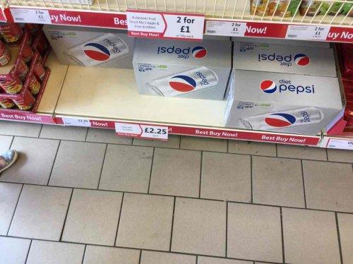 15 x 330ml cans of Diet Pepsi £2.25 instore @ Heron