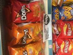Branningans lamb & mint multipack + Doritoes tangy cheese/chilli heatwave share bags (sensations share bags + others multipacks list in description) reduced to 50p at poundland