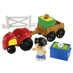 Asda Fisher Price Little People Tractor & Trailer - £3 instore @ Asda