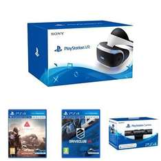 Playstation VR headset + Camera + Farpoint + Driveclub VR £349.99@ Amazon
