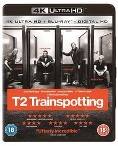 T2 Trainspotting 4K UHD Blu ray £15 @ Tesco Direct (online only)