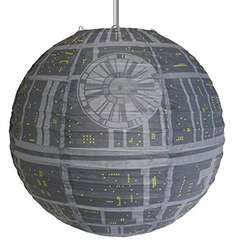 Star Wars Death Star Paper Light Shade £4.45 Del Prime / £8.44 Non Prime @ Amazon (Sold by Findmeagift and Fulfilled by Amazon)