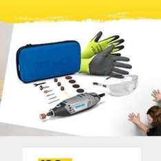 Dremel 3000 corded multitool + safety glasses + safety gloves - £35 @ B&Q