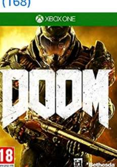 Doom Xbox 1 just £8.99 Prime / £10.98 Non Prime @ Amazon