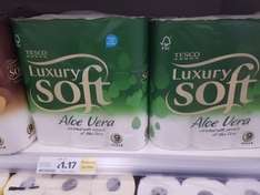 9 Pack Luxury Aloe Vera Toilet Roll - £1.17 instore Tesco Glasgow Parkhead