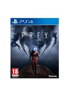 Prey ps4/Xbox one £26.99 at very.co.uk free delivery with collect plus