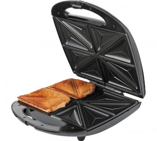 Cookworks 4 Slice Sandwich Toaster - Stainless Steel 423/7288 Under Half Price Was £24.99 now @ Argos