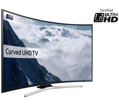 Samsung 49KU6100 49 Inch Curved SMART 4K Ultra HD TV w/ HDR £479 @ Argos