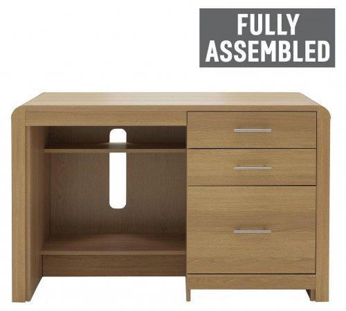 Heart of House Elford Desk - Oak Effect £150.94 @ argos