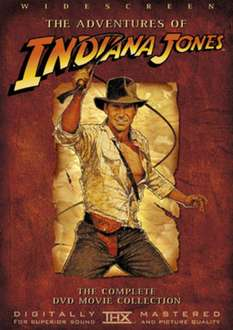 Indiana Jones Trilogy DVD £1.86 (PREOWNED) delivered @ MusicMagpie