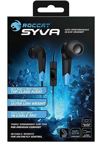 Roccat Syva High Performance In-Ear Headset £7.67 (Prime) / £11.66 (non Prime)(Amazon)