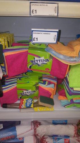 7 microfibre cloths £1 @ poundstretcher