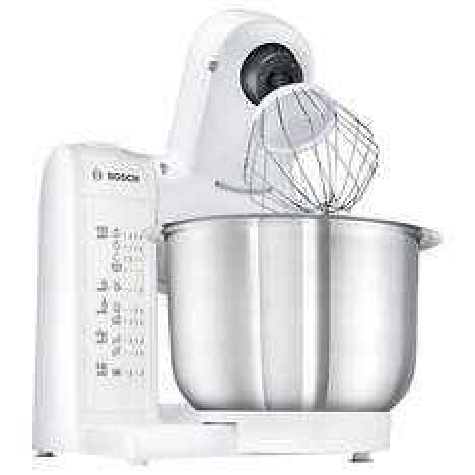Bosch MUM4807GB Kitchen Food Mixer, White £55.20 - John Lewis