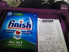 Home Bargains Finish Powerball All in 1 Deep Clean 49p for six