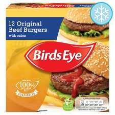 Birds Eye 12 Beef Burgers 680G £1.99 @ Tesco
