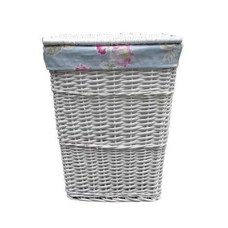 White wicker laundry basket half price £8.49 @ Dunelm - Free c&c