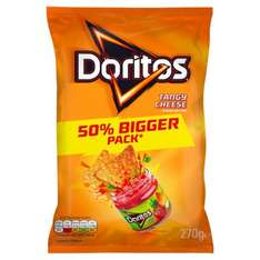 Doritos extra large sharing packs- 270g for only £1 at Morrisons