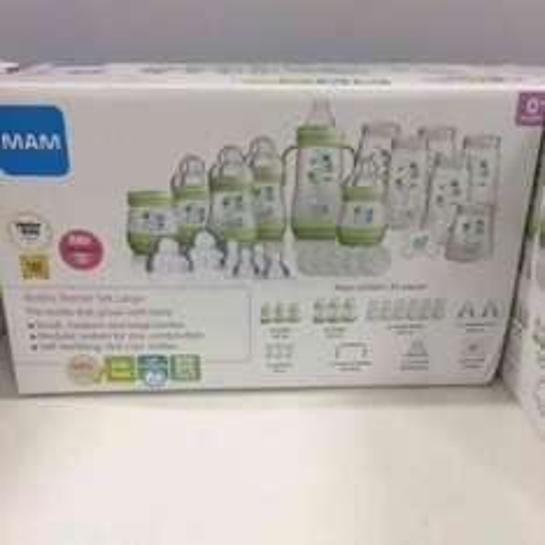 MAM bottle starter set - large 23 piece - £12.50 instore @ Boots