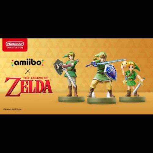 Skyward Sword Link Amiibo - TLOZ Collection (Nintendo Switch/3DS/Wii U) by Nintendo  £10.99 Prime @ Amazon