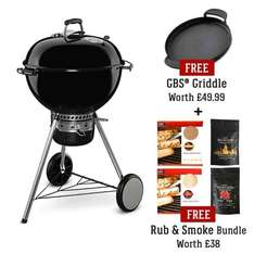 Weber master touch 57cm with free accessories worth £87.99, for only  £239 - riversidegardencentre