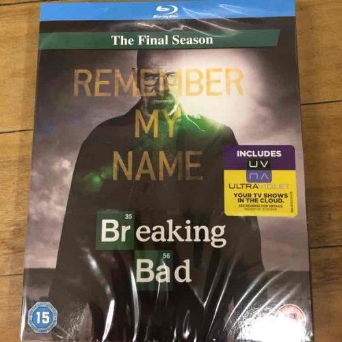 Breaking Bad The final season on blu-ray £1.00 at Poundland