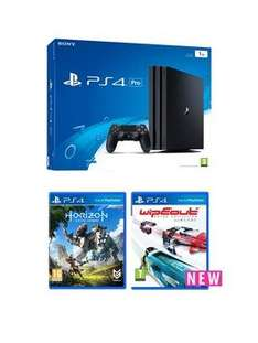 Playstation 4 PS4 Pro Console + Horizon Zero Dawn + Extra Controller + 1 year PS Plus - £318.99 @ Very
