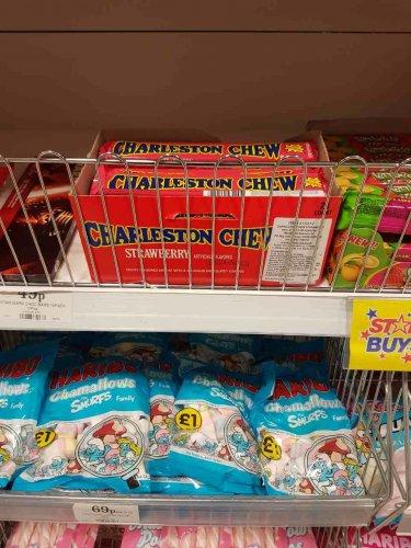 Charleston Chews Strawberry only 39p @ Home bargains