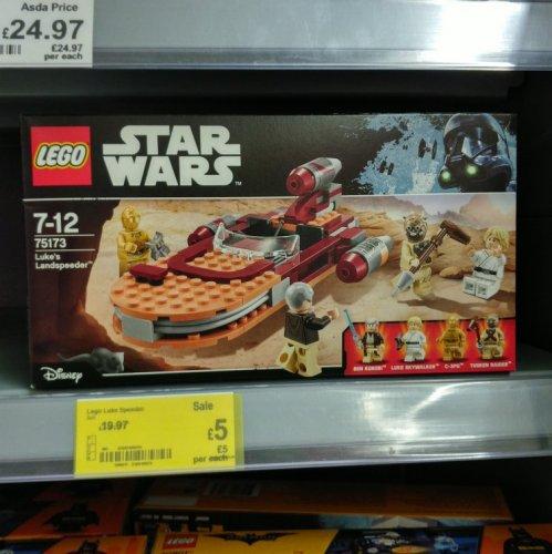 Lego Luke's Landspeeder £5 instore @ Asda