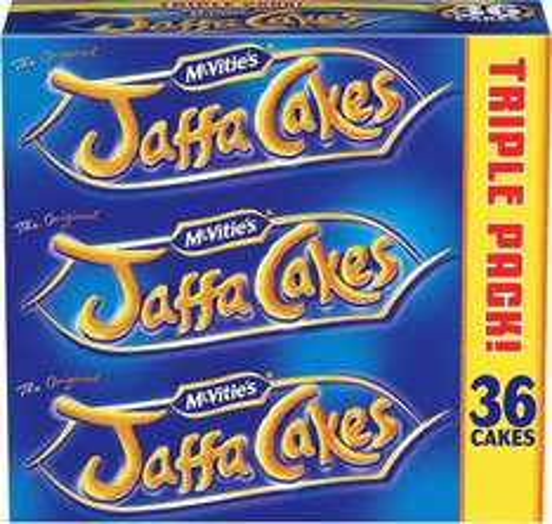 McVitie's Jaffa Cakes (3x150g) was £2.65 now £1.32 @ Sainsbury's