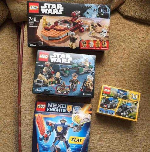 Lego Star Wars Luke's landspeeder 76173 £5 Asda in store
