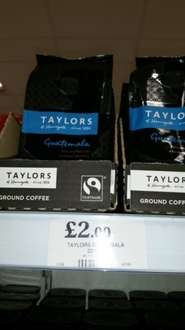 Taylor coffee (different types) £2 @ Home Bargains