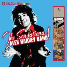 The Sensational Alex Harvey Band - 5 Classic Albums   Includes  (Framed,Next,The Impossible Dream,Tomorrow Belongs To Me And SAHB Live) - Just £9 INSTORE @ Sainsburys