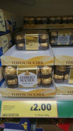 Ferrero Rocher for £2! @ Tesco