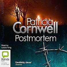 Audible DOTD, Postmortem by Patricia Cornwell audio book, £1.99