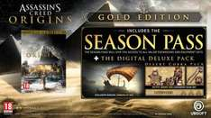 Assassin's Creed Origins Gold Edition (with Season Pass) PS4/XBOX - £69.99 Ubi Store