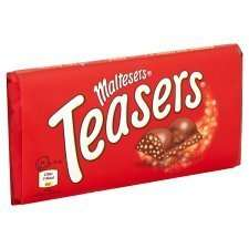 Maltesers Teasers 100G less than half price was £2.14 now £1.00 from tomorrow @ tesco.