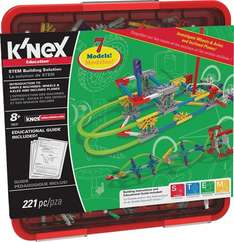 K'NEX Simple Machines Wheels/Axles and Inclined Planes Set £19.99 (Prime) / £24.74 (non Prime) at Amazon
