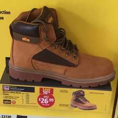 Site Safety boots £26.99 at Screwfix