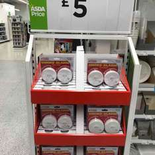 Kidde Smoke Alarm twin pack with batteries £5 @ Asda in store Kingswood Hull