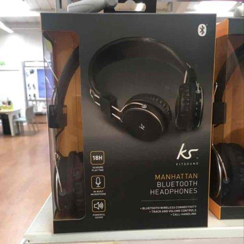 kit sound manhatten Bluetooth headphones £12 @ Asda Leeds