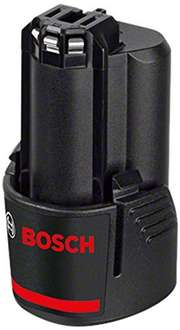Bosch 10.8V 2.0Ah Li-ion Battery 2607336879 £14.66 prime / £18.65 non prime Sold by SEEFELDER and Fulfilled by Amazon