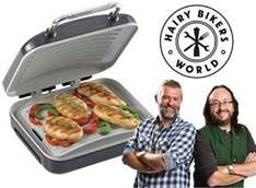 Hairy Bikers Ceramic Health Grill £9.99 Aldi