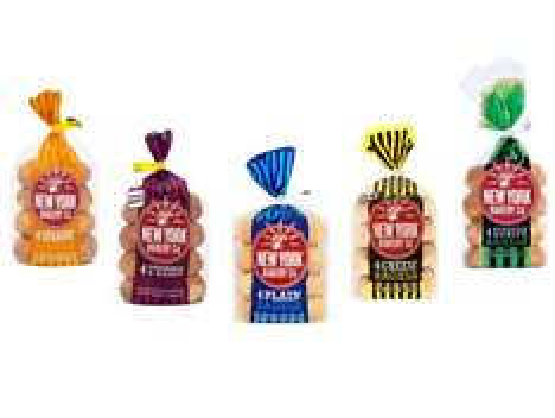 New York Bakery Co Bagels 4 packs 75p @ Asda