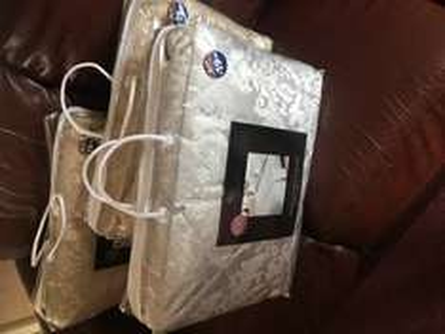Elizabeth jacquard damask bedspread £1 B&M - Dunedin