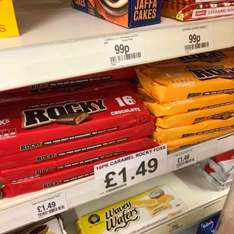 fox's 16 pack Rocky chocolate and Caramel £1.49 instore @ Lathams of Potter Heigham