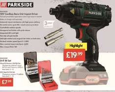 Cordless Tools 20V - Impact Driver £19.99 - Sabre Saw £29.99 - Angle Grinder £29.99 - Bare Units (3 Year Warranty) - 20v Li-Ion Battery + Charger £16.99 (3 Year Warranty) - LIDL (Parkside)