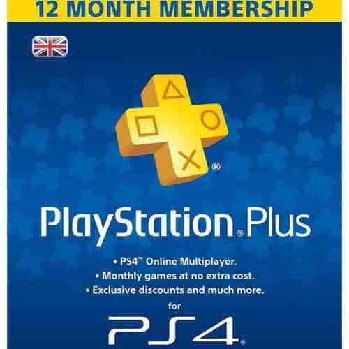 PS Plus 12 Month (AMAZON)