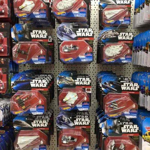 Star Wars Hot Wheels £1 at Poundworld