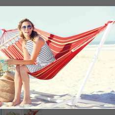 Florabest Hammock with Frame and 3 year warranty £29.99 @ Lidl